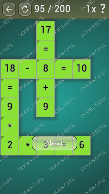 Math Games [Beginner] Level 95 answers, cheats, solution, walkthrough for android