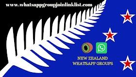 New Zealand WhatsApp Group Join Link List