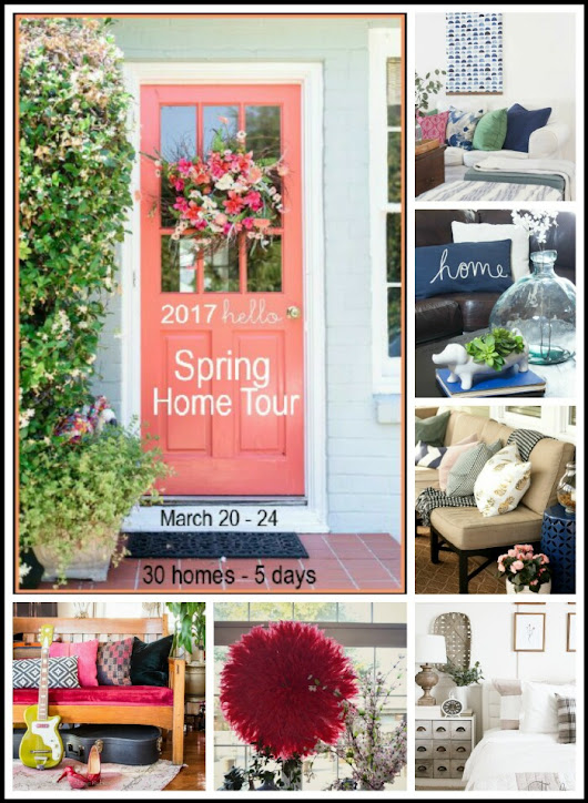2017 Spring Home Tour - Friday Lineup