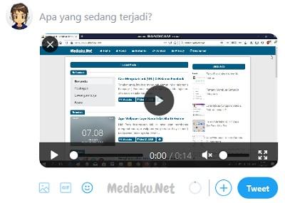 Upload Video Twitter Di Komputer