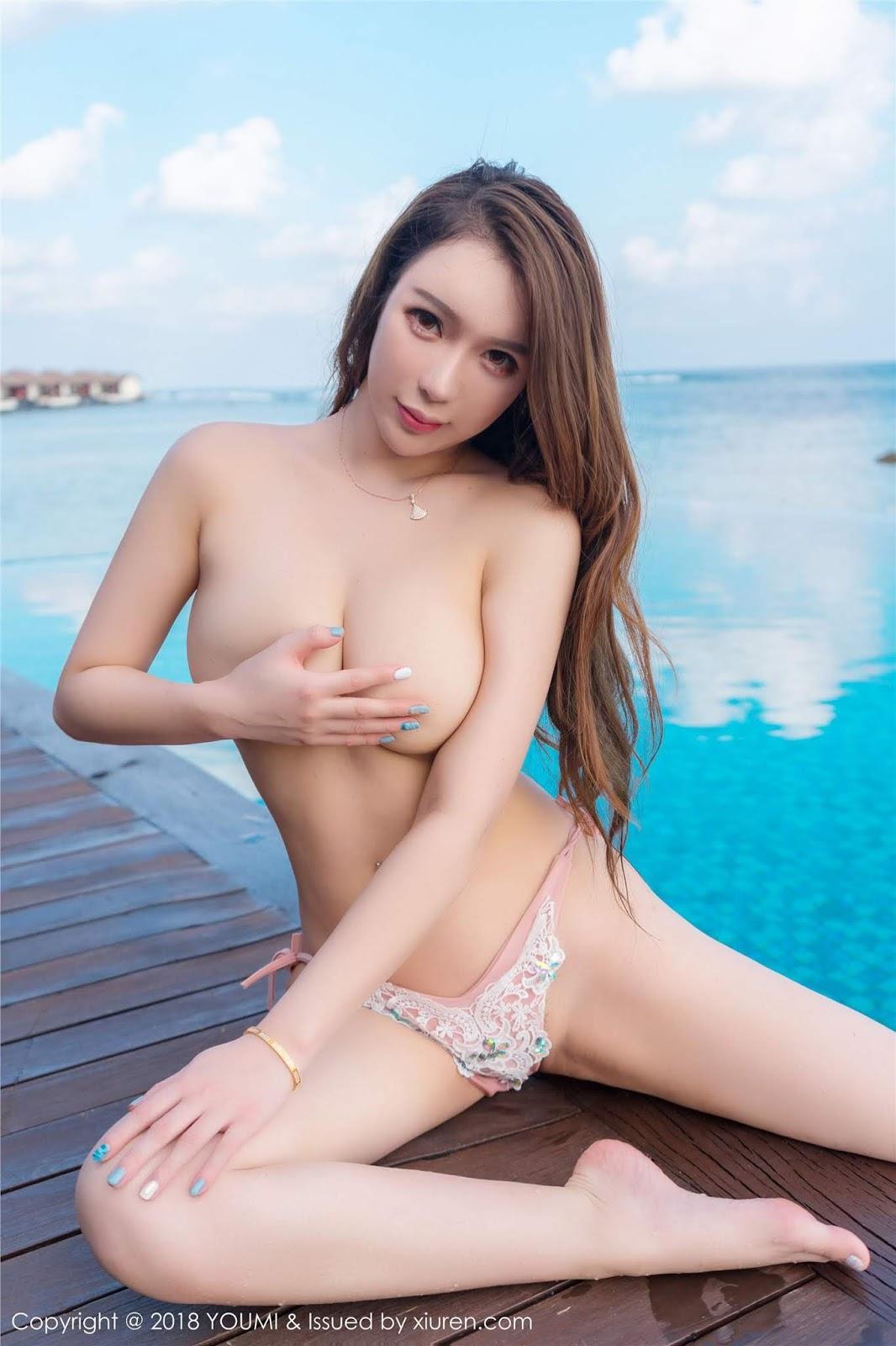 Chinese Model Egg 尤妮丝 Youmi Vol 103 (31 Pict)