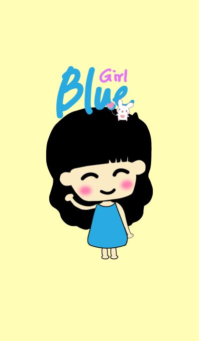 Blue Little Girl