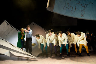 Production still from The Little Prince musical in the Lyric Theatre, Belfast