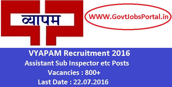govt jobs application closing date