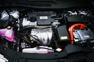 2016 Toyota Camry Atara R Engine