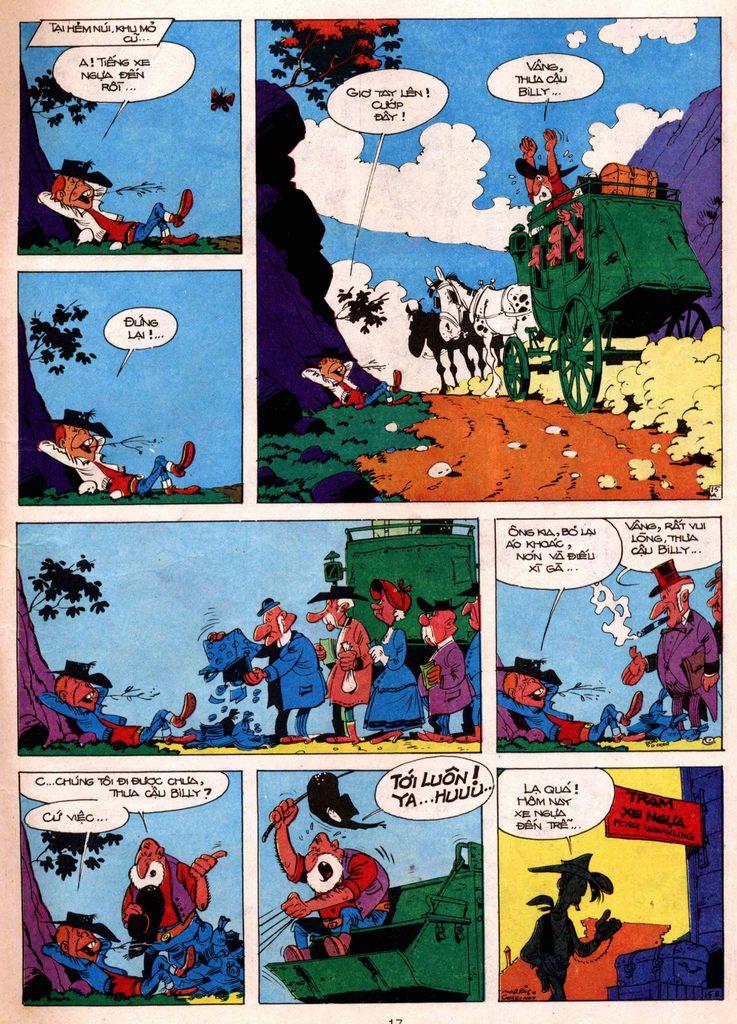 Lucky Luke tap 7 - ten billy the kid trang 15