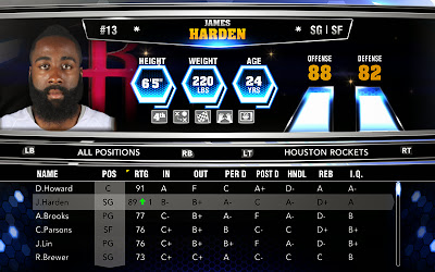 NBA 2K14 Roster Update - 11-08-13