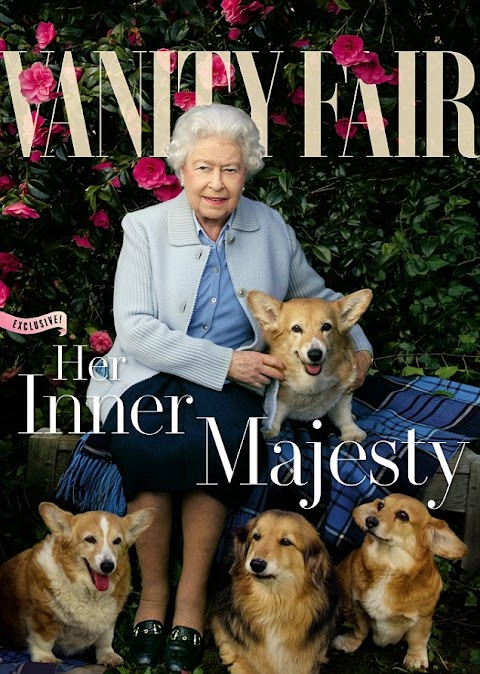 The Queen turns cover girl! as she stuns on Vanity Fair June Summer Edition