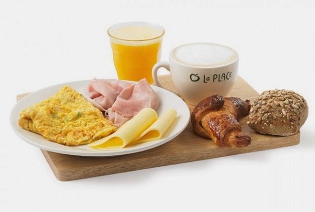 La Place ontbijt