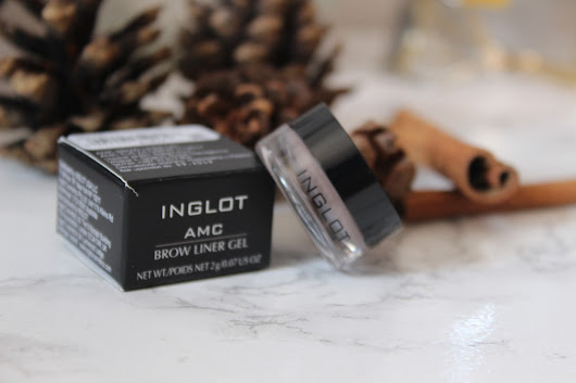 Sparkle of beauty: Inglot Brow Liner Gel