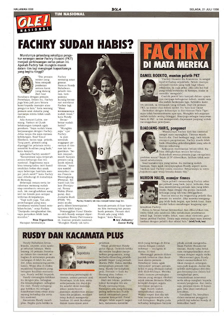 FACHRY HUSAINI TIM NASIONAL INDONESIA