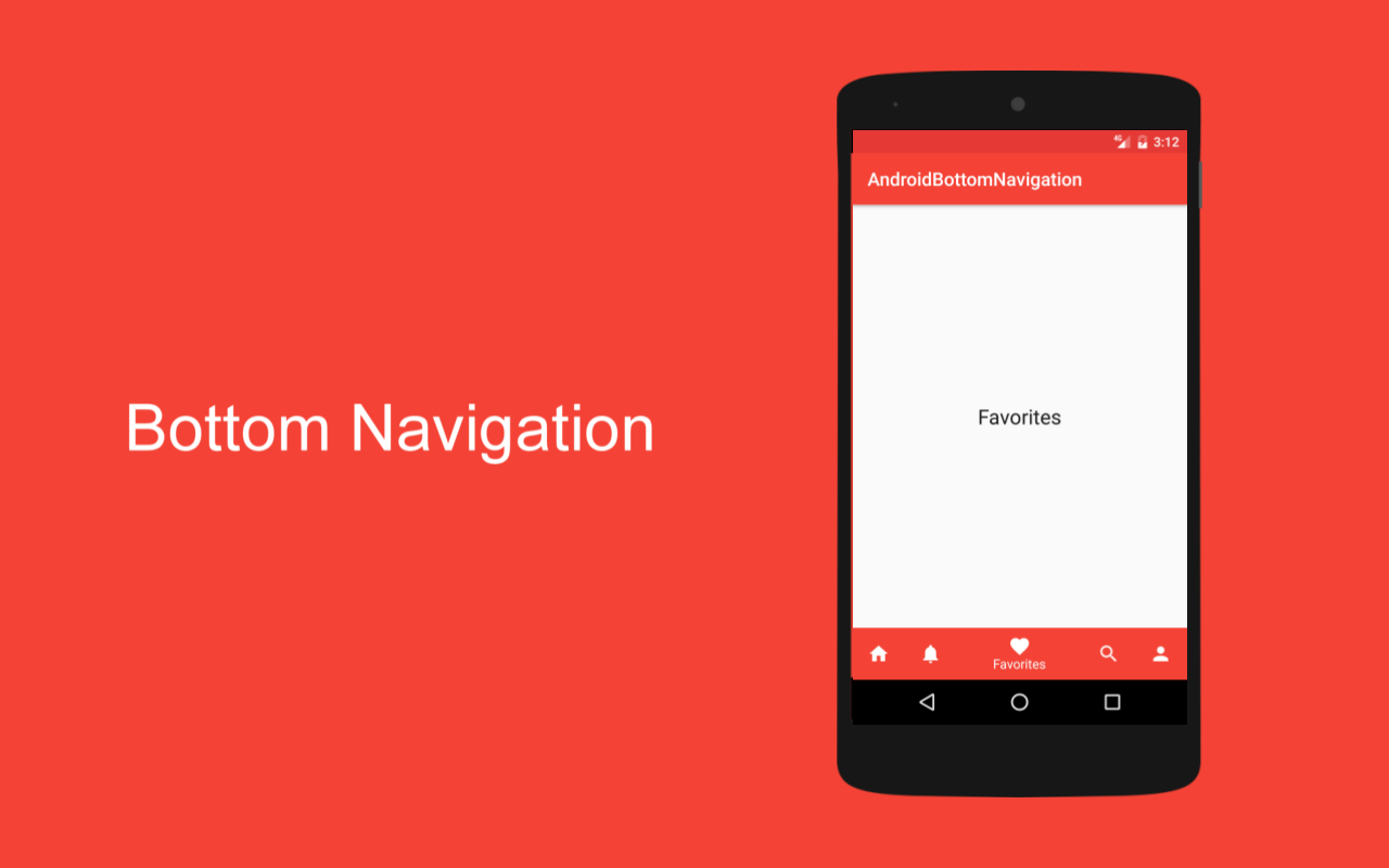 Tutorial Android) Bottom NavigationView Android Material Design - My