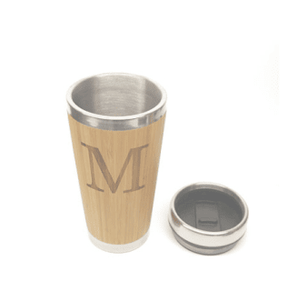 mug, bamboo, travel