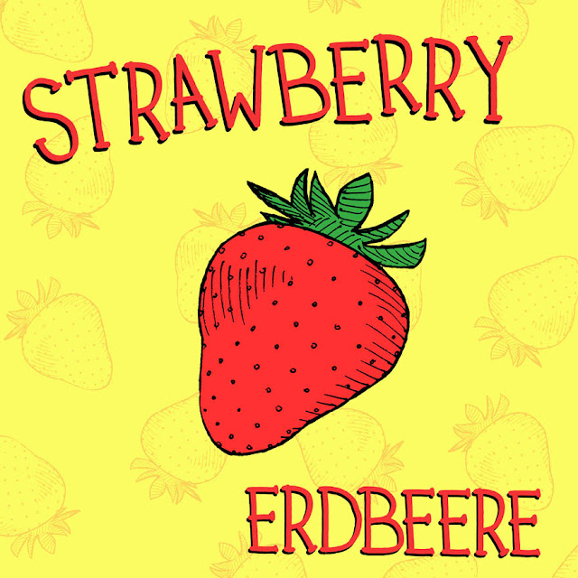 strawberry illustration bilderbuch kinder