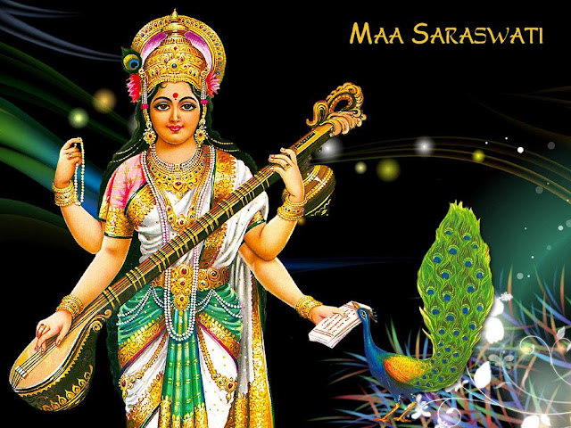 Maa Saraswati / Saraswati Puja HD Wallpaper For Your Mobile