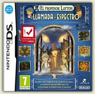 Profesor Layton y la Llamada del Espectro, nds, español