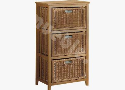 mueble cajonera en madera maciza j697