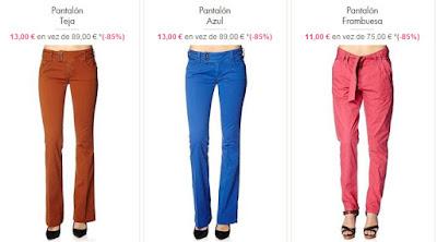 pantalones para mujer de la marca Kaporal al mejor precio