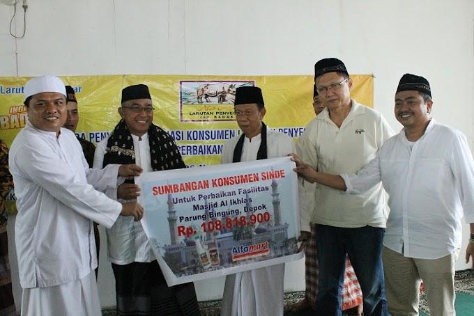 Sinde Bantu Pembangunan Masjid Al-Ikhlas di Depok