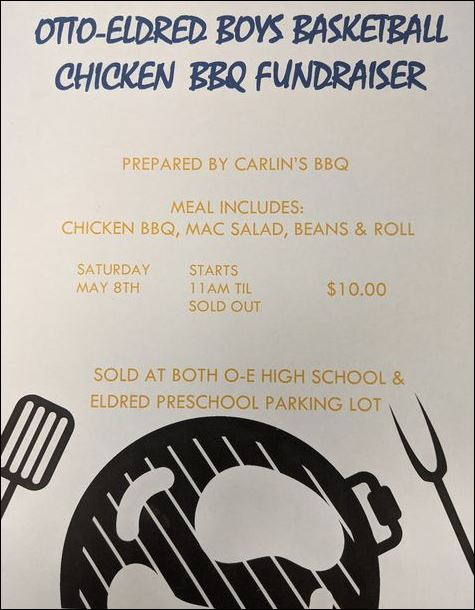 5-8 Chicken BBQ, Eldred