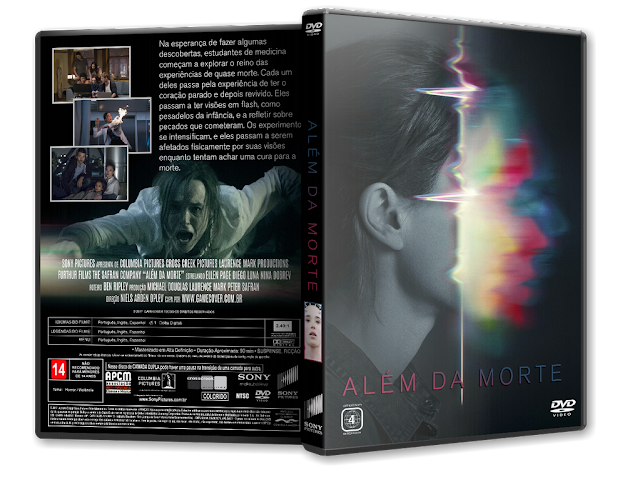 Capa DVD Além Da Morte [Exclusiva]