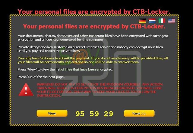 CTB-Locker (Ransomware)