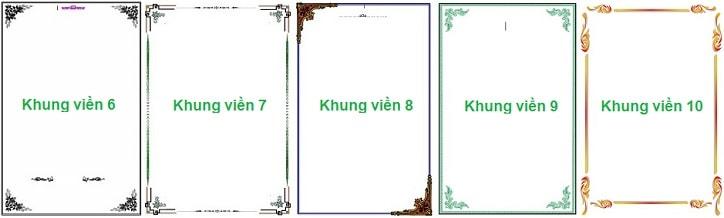Tải mẫu bìa khung viền, hình nền, Slide đẹp cho Word, Powerpoint_1
