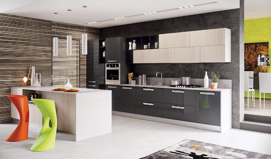 Modern Kitchen Design White Color