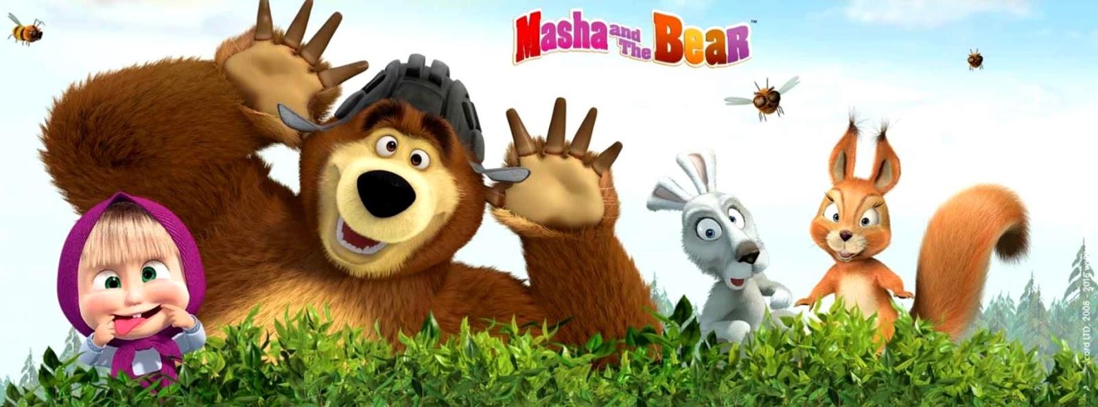 Masha Images Hd Cartoon Masha Bear Wallpapers Titan