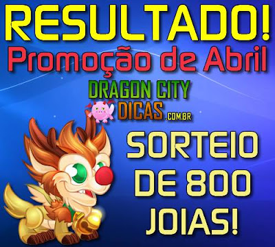 Resultado do Super Sorteio de 800 Joias - Abril 2016