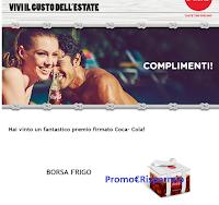 Con Logo Coca-Cola gioca e vince subito la borsa frigo: scopri i prossimi premi