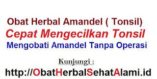Cara OBAT HERBAL ALAMI pengobatan AMANDEL ANAK dewasa tanpa operasi tradisional