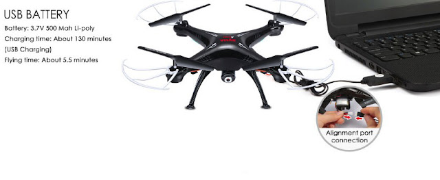 Spesifikasi SYMA X5SC-1 Upgraded Version - OmahDrone