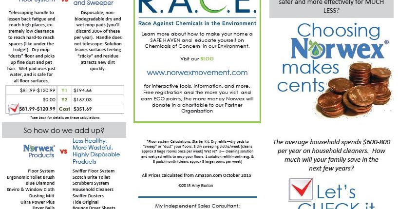 Cleangreen Livefree Norwex Makes Cents