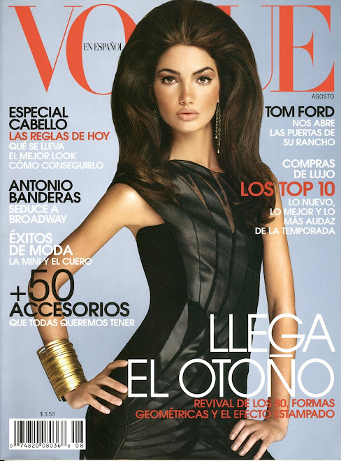 Lily Aldridge for Latin Vogue