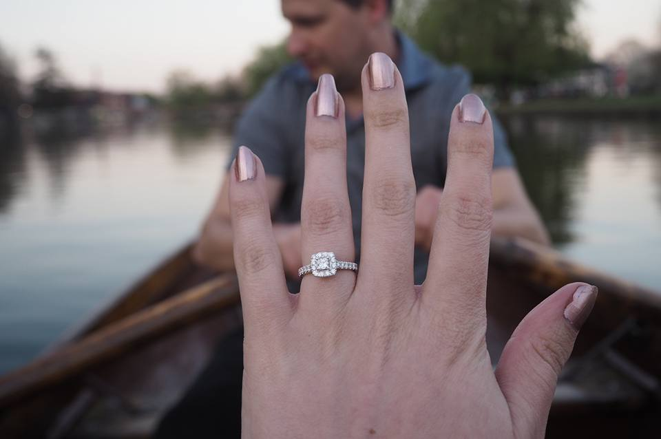 Perfect propsal getting engaged in Stratford upon Avon