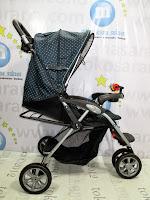 tidur babydoes ch290 jogger roda 3 kereta dorong bayi