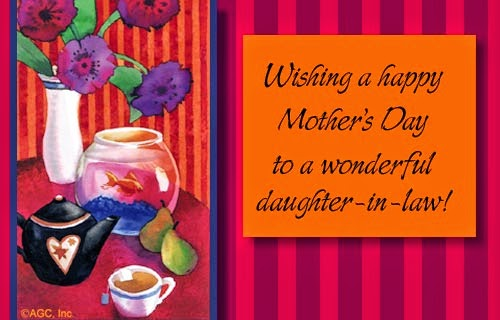 Daughters In Law Quotes For Mom Day Cards For. QuotesGram