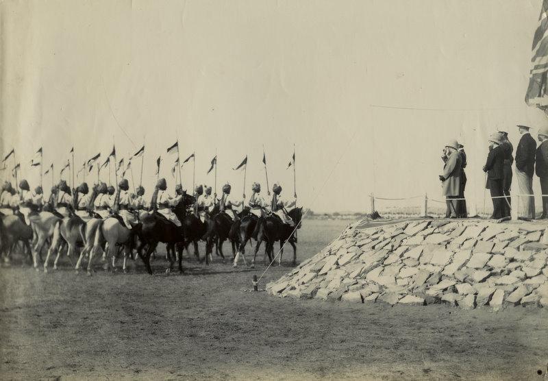 Imperial Service Cavalry in Delhi Durbar 1903
