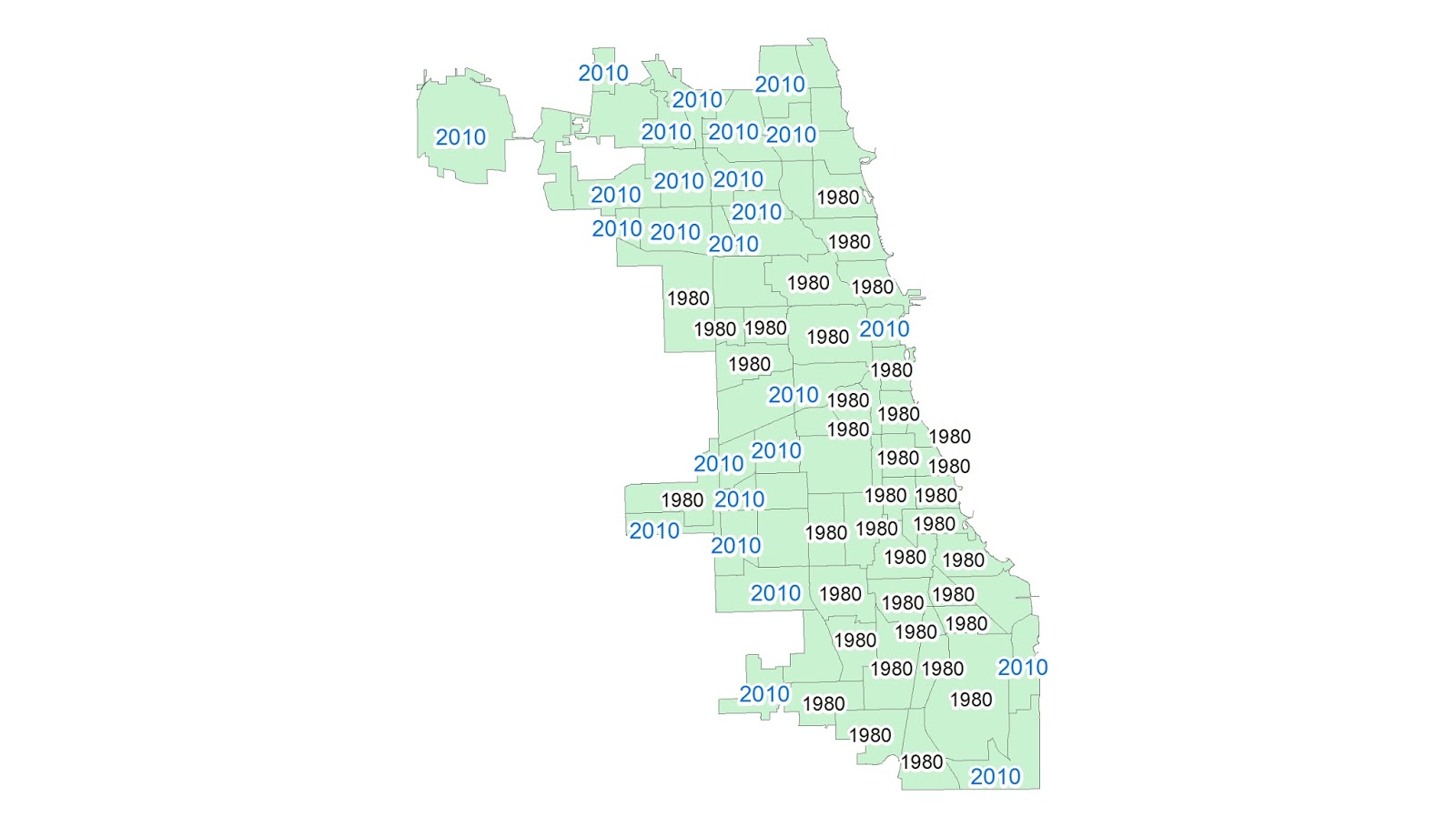 African American Population Peaks in Chicago Chicago Data Guy