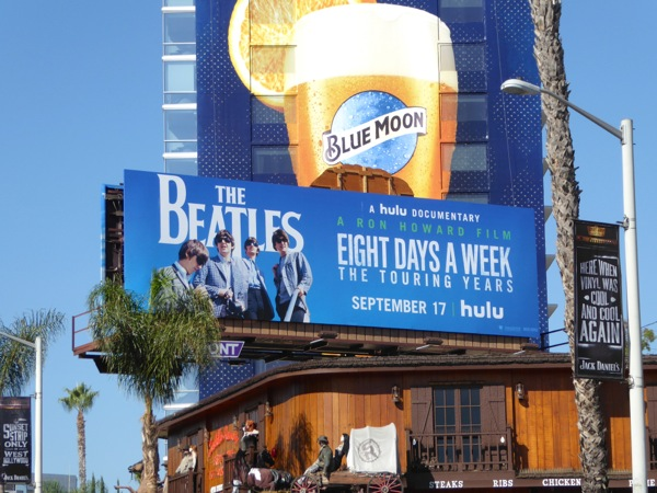 Beatles 8 days a week Hulu documentary billboard