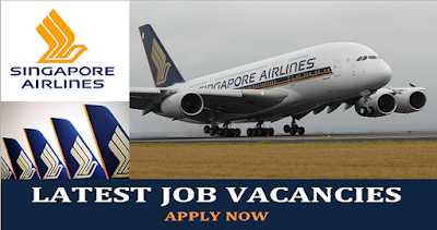 Jobs at Singapore Airlines in Singapore