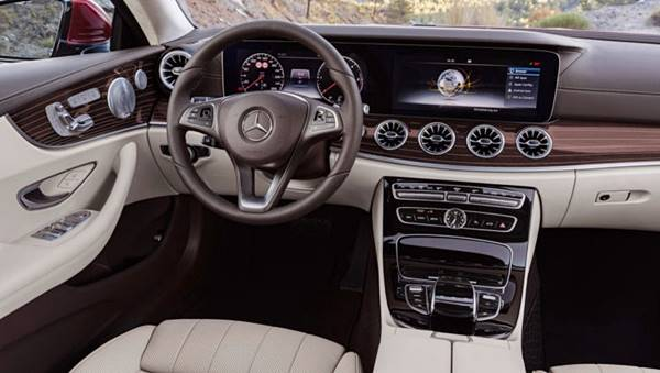 2018 Mercedes-Benz E400 4Matic Coupe Two Doors