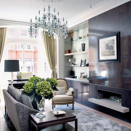 London Apartments: New Home Interior Design: Take A Tour Around An Elegant