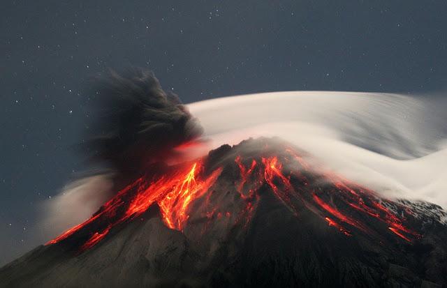 Vulcão Tungurahua - Equador