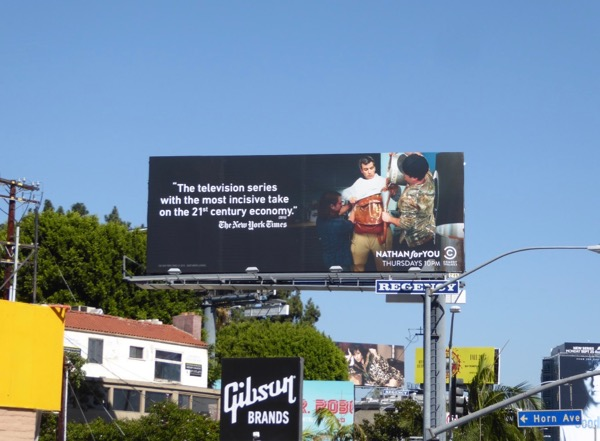 Nathan For You season 4 billboard