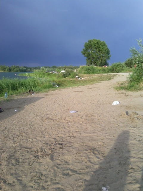 Пляж в Новосибирске