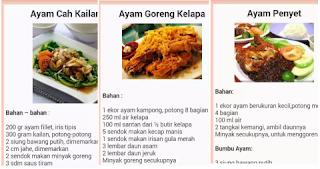 Aplikasi resep ayam ramadhan download gratis di play store