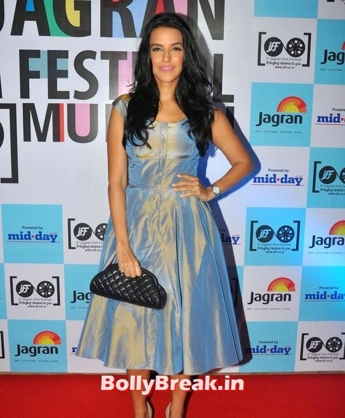Neha Dhupia, 5th Jagran Film Festival Red Carpet Pics