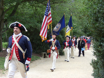 Living history at Mount Vernon on Independence Day